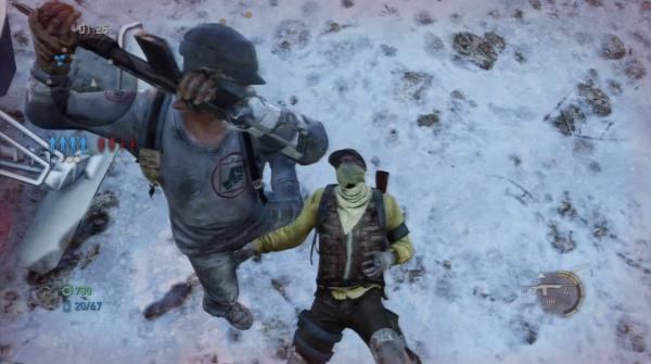 Eine Exekution in dem Multiplayer