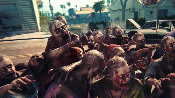 Selbst in großer Anzahl stellen die normalen Zombies keine große Gefahr da.
