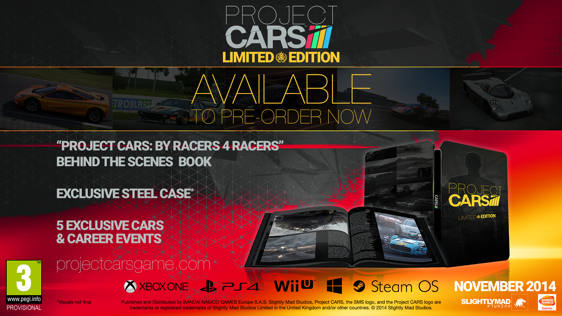 Project Cars  Collector S Edition Pc Preorder